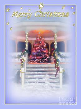 Christmas Scene by Diana Besser