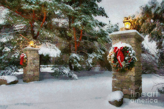 Christmas Snow 2 by doug hagadorn by Doug Hagadorn