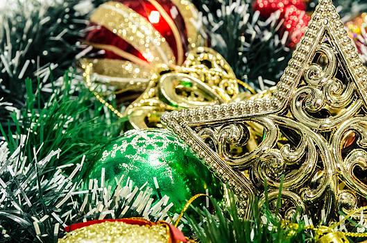 Christmas star. by Slavica Koceva