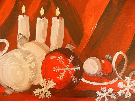 Christmas Still Life by Suzanne Buckland