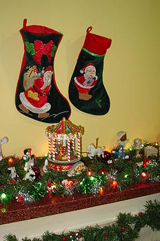 Christmas Stockings by Thomas D McManus