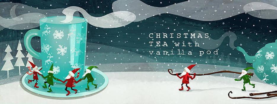 Christmas Tea With Vanilla Pod by Patrycja Wrobel