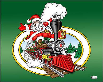 Christmas Train by Bill Proctor