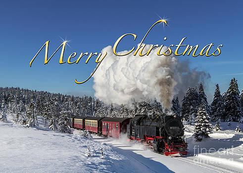 Christmas Train by Christian Spiller