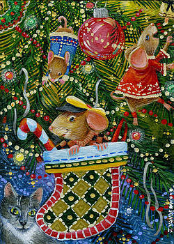 Christmas Tree Fun by Jacquelin Vanderwood