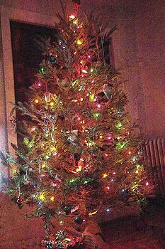 Christmas Tree Memories Red by Carol Whaley Addassi
