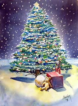 Christmas tree by Steven Holder