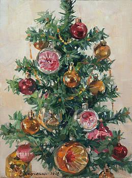 Christmas tree by Victoria Kharchenko
