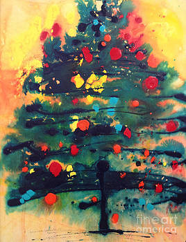 Christmas Trees Make Me Laugh by Johanna Littleton