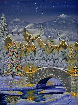 Christmas Village by Ray Nutaitis