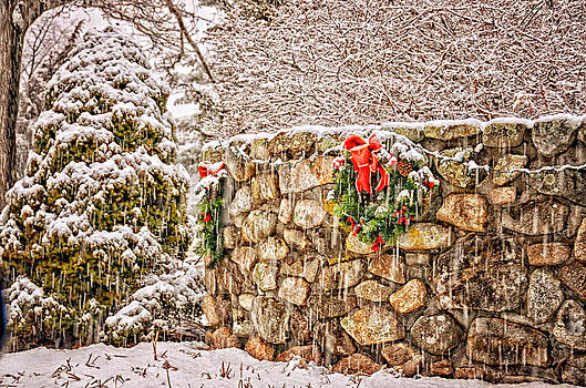 Christmas Wall by Tricia Marchlik