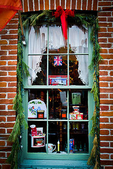 Christmas Window #2 by Kristy Creighton