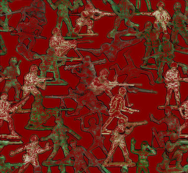 Christmas Wrap Camo by Douglas Martin