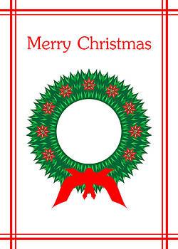 Christmas Wreath by Joel Dynn Ingel Rabina