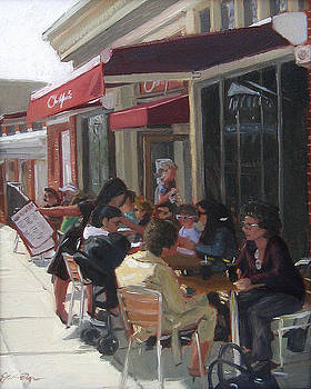 Christopher's Restaurant by Jamie Pogue
