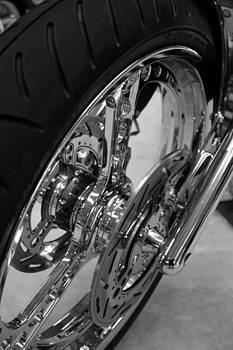 Chrome spokes by Ian  Ramsay