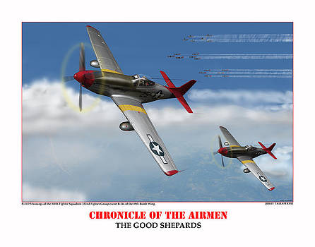Chronicle Of The Airmen The Good Shepards by Jerry Taliaferro