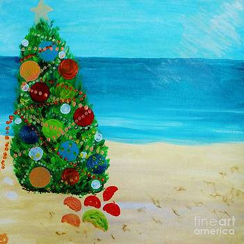 Chrstmas Tree in the Sea Breezes by Marie Bulger