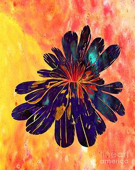 Barbara Griffin - Chrysanthemum Stone Abstract 2