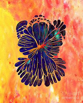 Barbara Griffin - Chrysanthemum Stone Angel Abstract