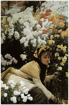 James Jacques Joseph Tissot - Chrysanthemums