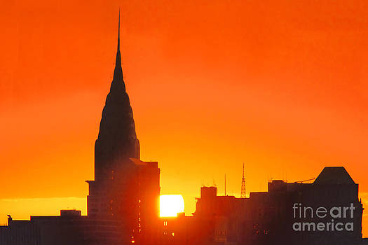 Regina Geoghan - Chrysler Building at Sunrise