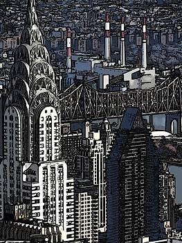 Chrysler Building by Galexa Ch