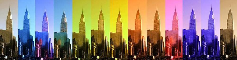 Chrysler building in Manhattan by Photographer