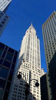 Chrysler Building by Kathleen Anderle