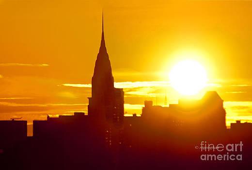 Regina Geoghan - Chrysler Building Sunrise