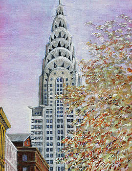 Chrysler Building by Thomas Michael Meddaugh