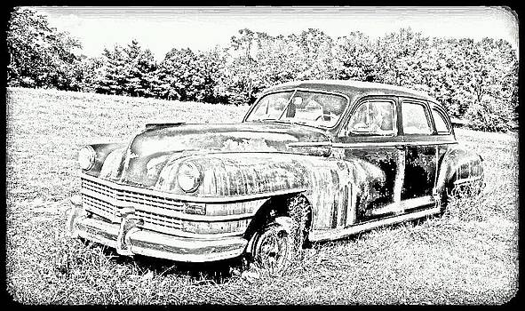 Chrysler Windsor Sketch 2 by Denise Jenks