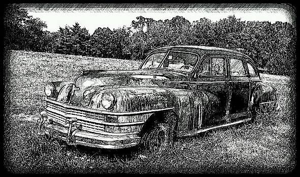 Chrysler Windsor sketch 3 by Denise Jenks