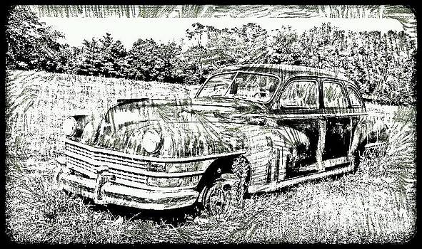 Chrysler Windsor sketch 5 by Denise Jenks