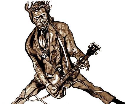 Chuck Berry by Herbert Renard