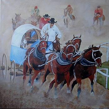 Chuckwaggon Racing by Harold Hopkinson