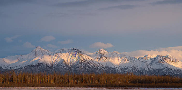Chugach Sunset by Emily Henriques