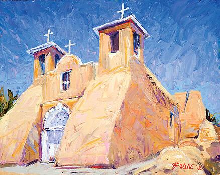 Church at Taos by Steven Boone