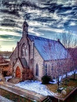 Church By 5th St Bridge by Dustin Soph