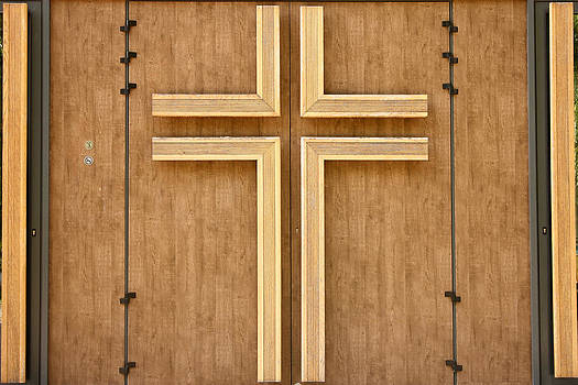 Church door by Borislav Marinic