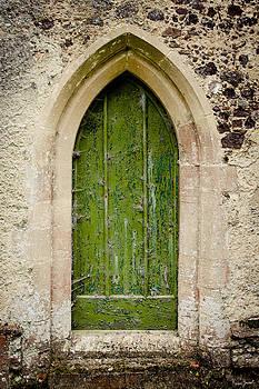 Church Door by Karen Varnas