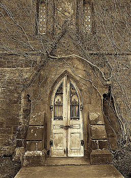 Church Door by Mike Cavaliere