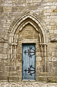 Wes and Dotty Weber - Church Door