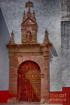 Church Entrance in San Miguel de Allende by Nicola Fiscarelli