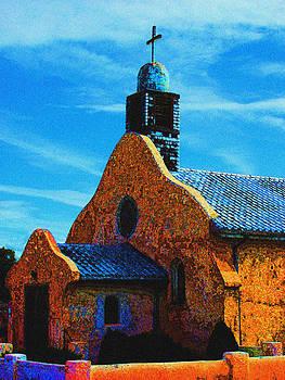 Church in San Isidro NM by Shirin McArthur