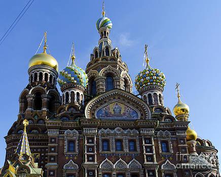 Pravine Chester - Church in St Petersburg