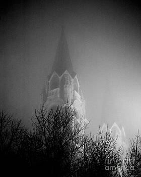 Church in the Fog by John Remy