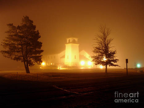 Church in the Fog by William Johnson