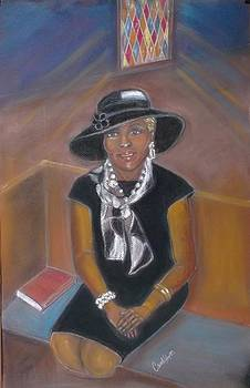 Church lady by Carole Joyce