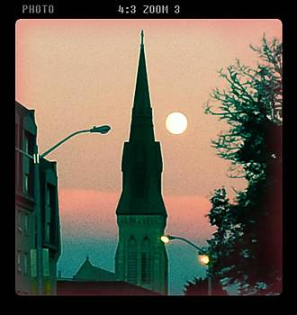 Church Moon by Ted Mahy